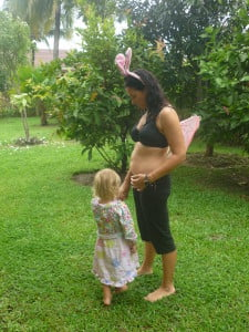 That is me - all 63kg, 86cm waist and 165cm. My daughter Ylvie, insisted on getting in the shot too, only fair considering I was wearing her bunny ears and fairy wings