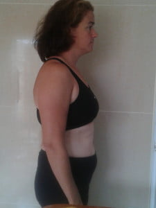This was Jackie at the beginning of the 30 Day Challenge....