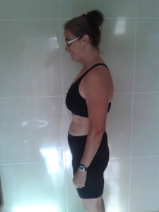 This is Jackie now, ten pounds lighter
